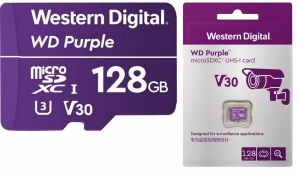 MicroSD карта WD Purple 128 GB