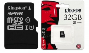 Карта памяти Kingston 32 GB microSDHC class 10 UHS-I(SDCS/32GBSP)