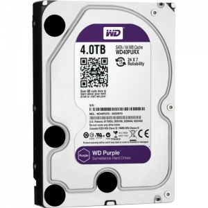 Жесткий диск Western Digital Purple WD40PURX 4TB